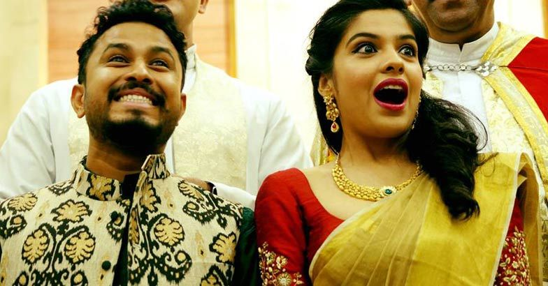 Archana Kavi - Abish Mathew Engagement Photos