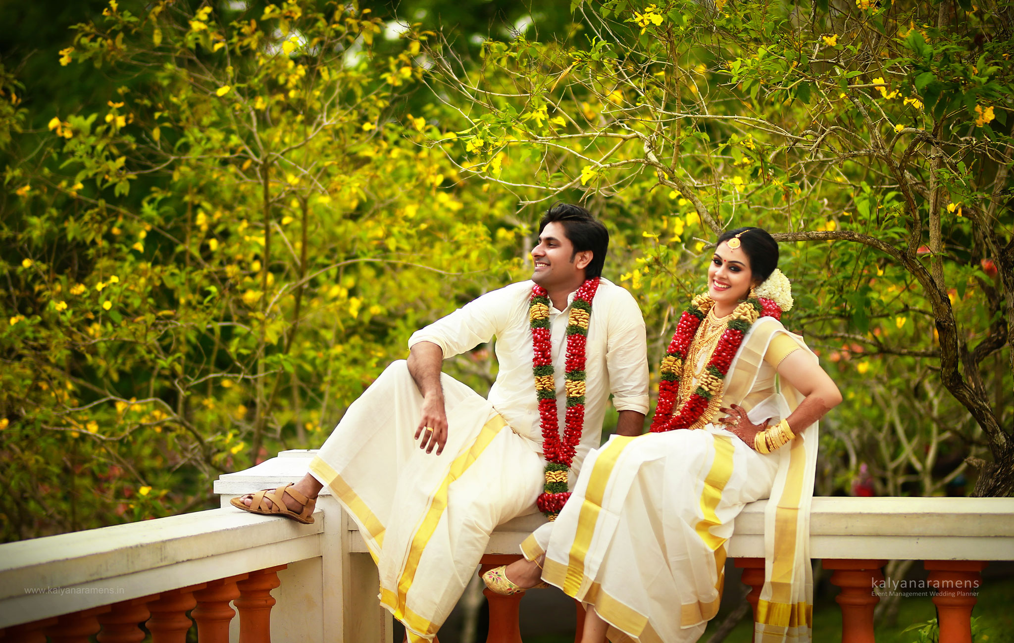 Bhavana Aneesh Wedding Photos