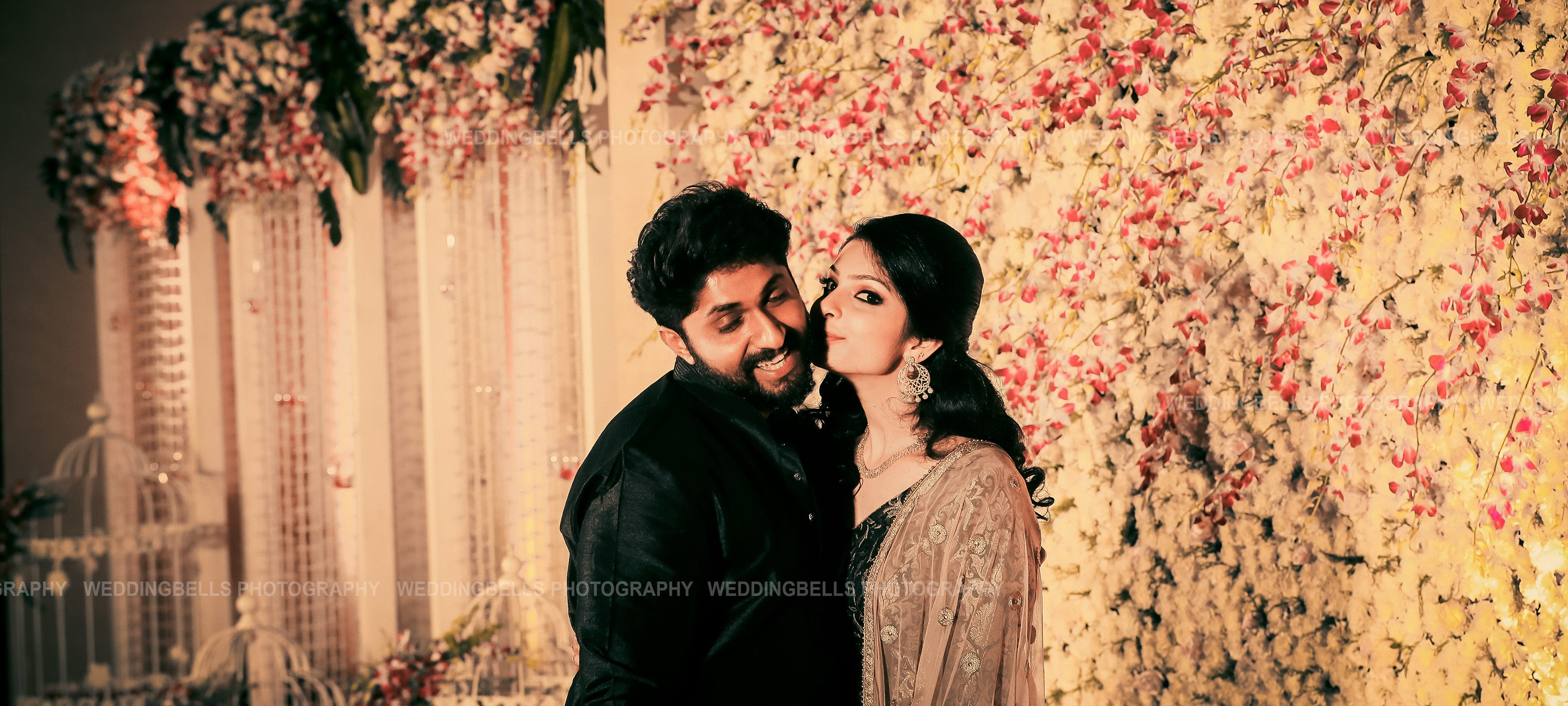 Dhyan sreenivasan & Arpita sebastian Wedding Reception Photos (1)