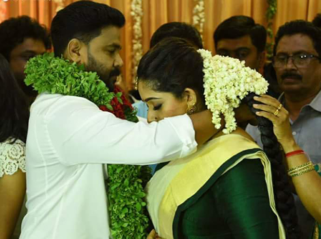 Dileep kavya Marriage Photos
