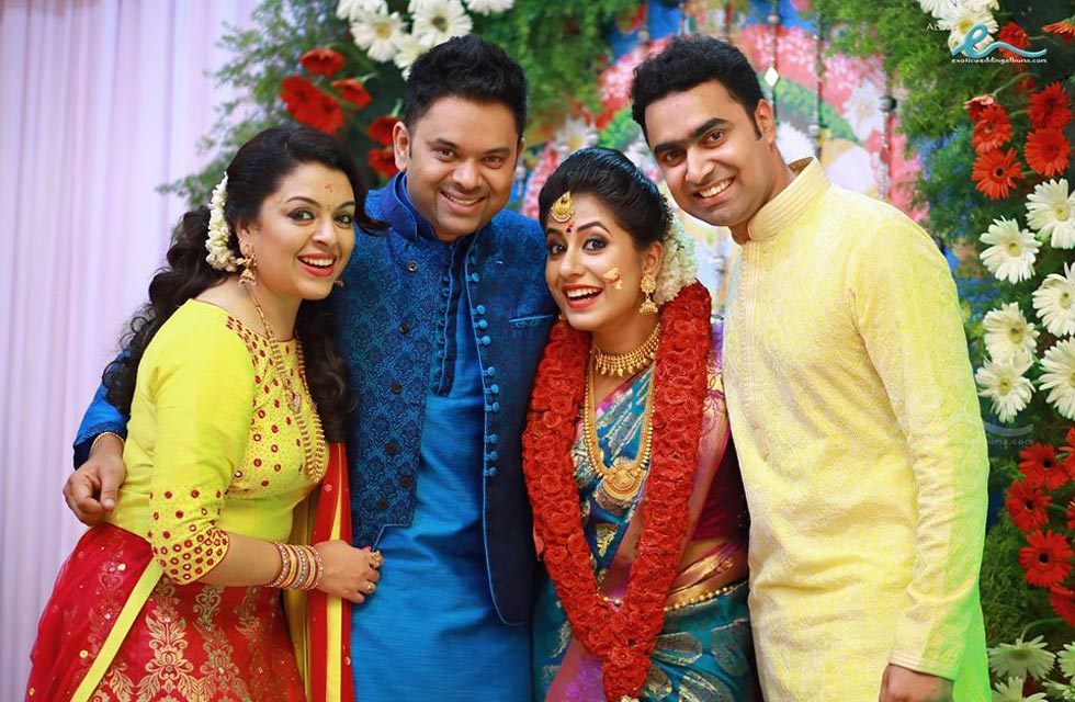 Malayalam Actress Jyothi Krishna Engagement Photos
