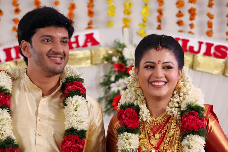 Nimisha Suresh Marriage Photos