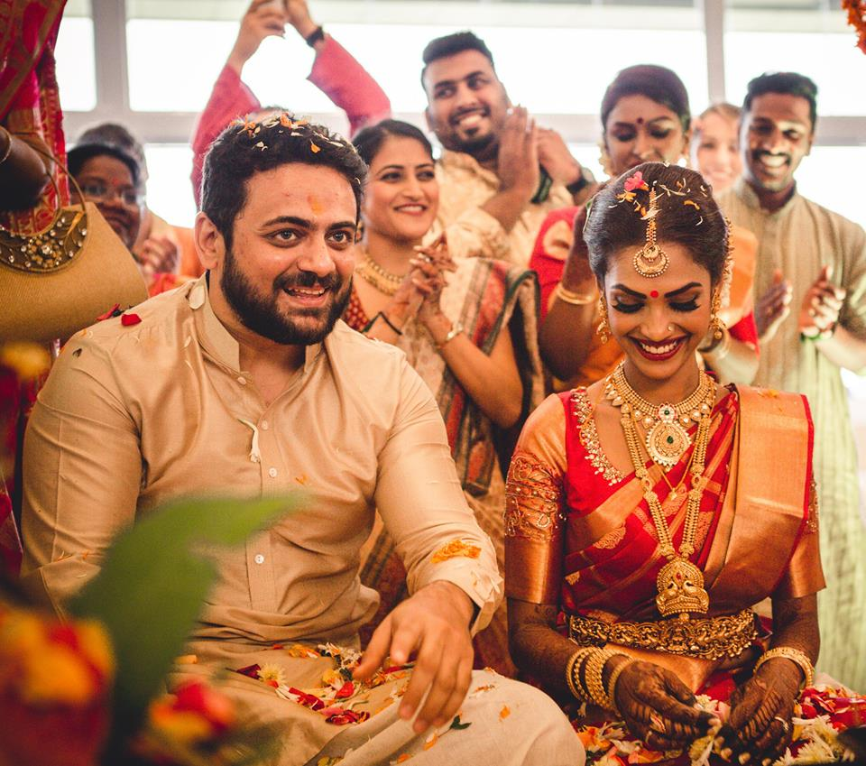 Malayalam Actress Shruthy Menon Wedding Photos